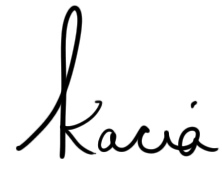 kaciasignature