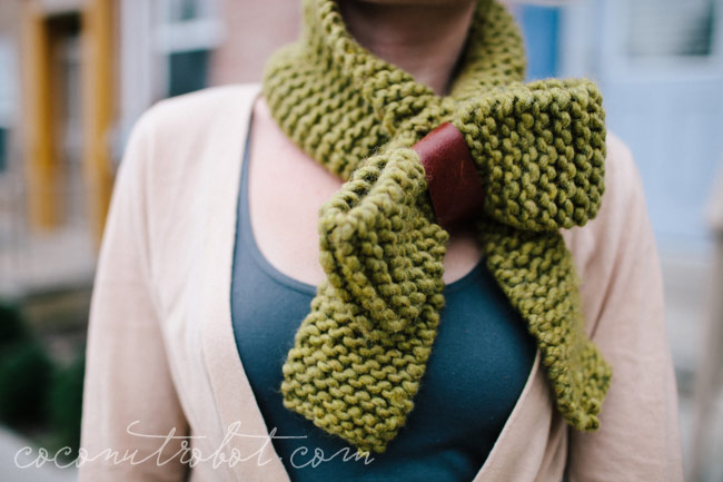 the Gloriana scarf