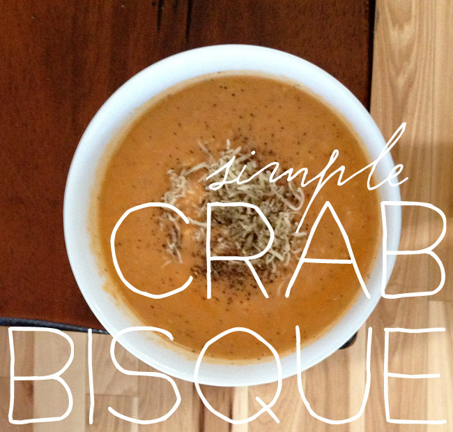 Thumbnail image for simple crab bisque