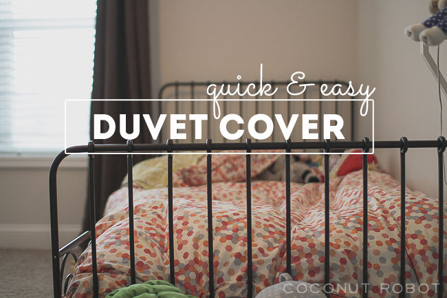 Thumbnail image for quick & easy duvet cover