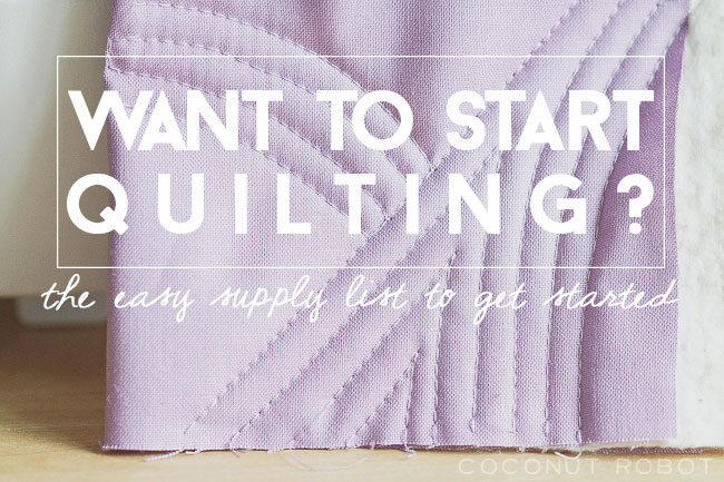 Thumbnail image for let's start from the very beginning || Quilt 101