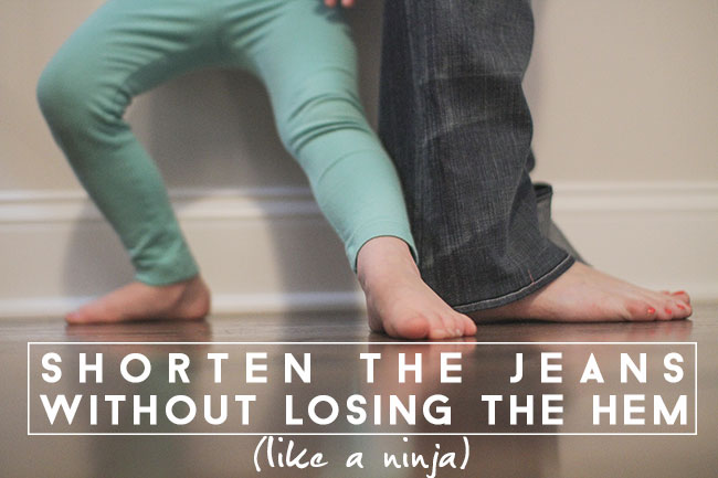 shorten-the-jeans-like-a-ninja