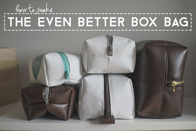 Box Bag Or Dopp Kit Tutorial Perfect For Father S Day