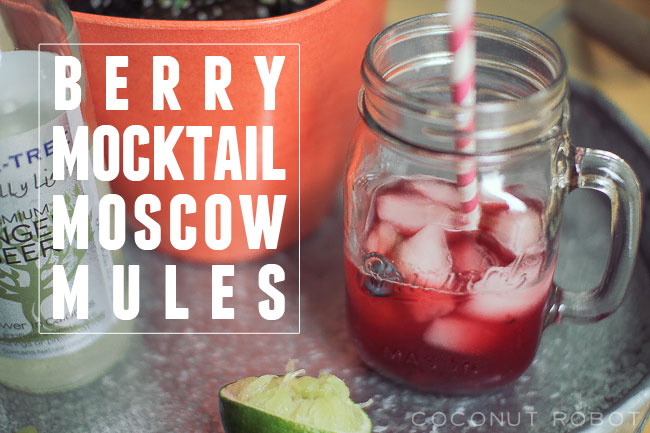 Thumbnail image for berry mocktail moscow mules & copper mugs