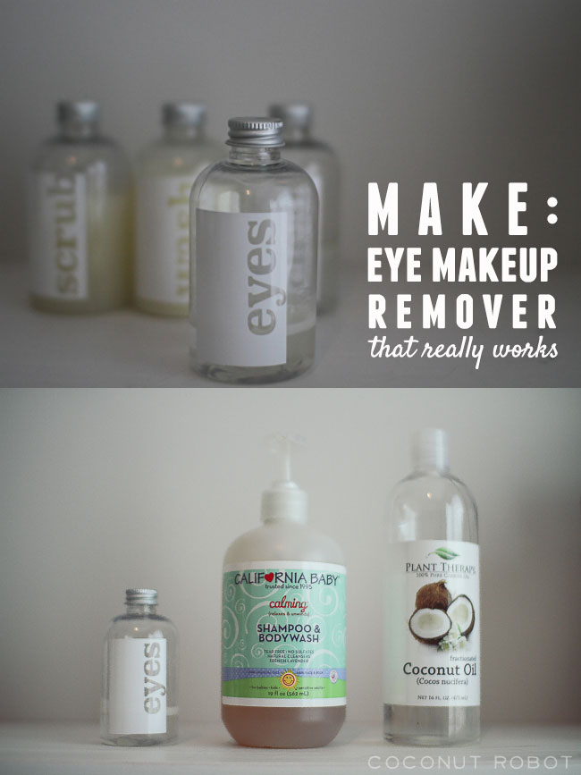 make: eye makeup remover (that really works!)