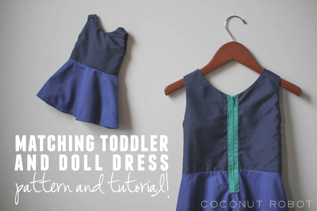 Thumbnail image for make a matching toddler and doll dress!