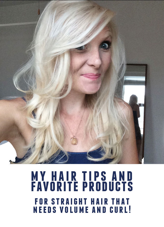 my tips + favorite products for fine hair!