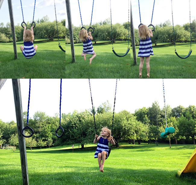 harlow swinging