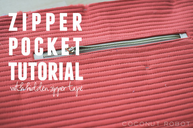 Thumbnail image for Zipper Pocket Tutorial (without the zipper tape showing)
