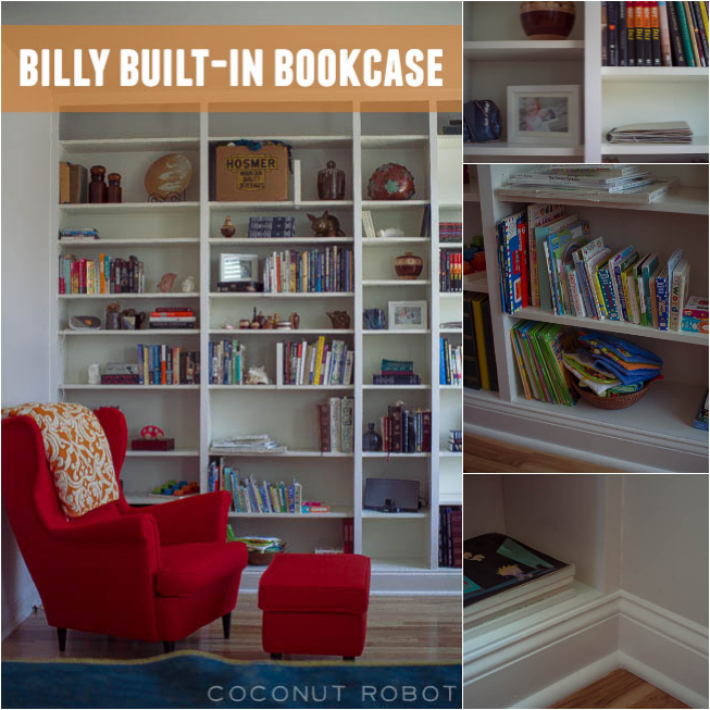 Thumbnail image for meet Billy, our Built-In Bookcase