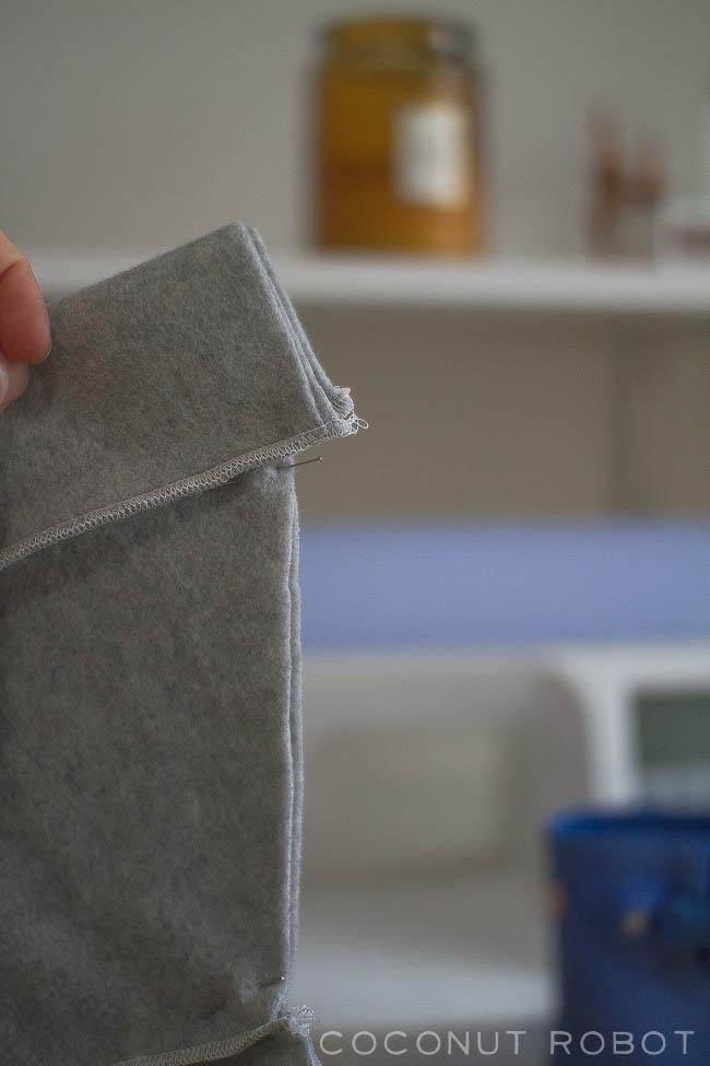 embroidered rainboot socks // tutorial & free pattern!