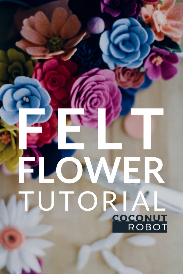LEARN: how to make a felt flower