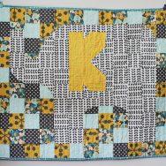 a quilt for Kaden // Coconut Robot Quilt