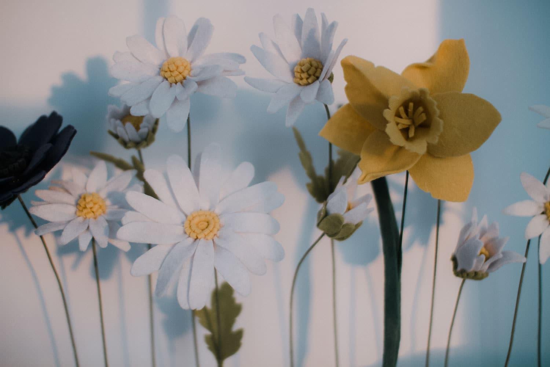 Felt Flower Daffodil Tutorial
