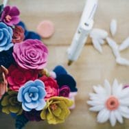 LEARN: how to make a felt flower