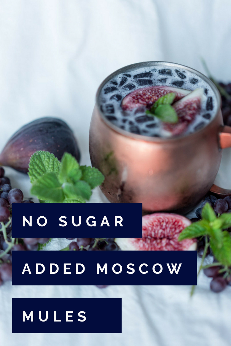 No Sugar Added Fig Moscow Mule